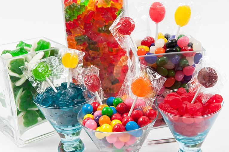 Bonbons variés