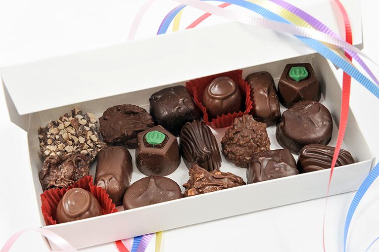 Chocolats variés